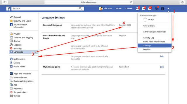 Làm theo hướng dẫn đổi tên facebook không cần đợi 60 ngày trên điện thoại, PC