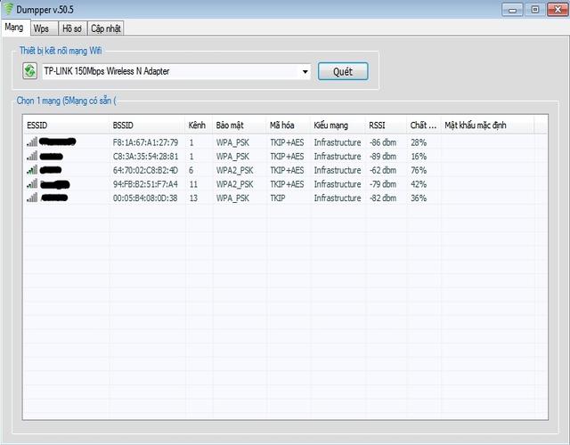 Thực hiện chạy file Dumpper 50.5 Việt