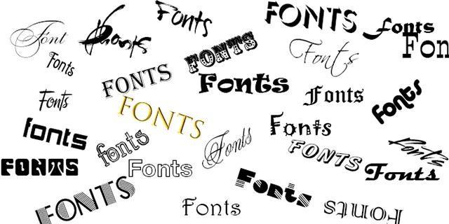 Các phông chữ thông dụng trong soạn thảo văn bản