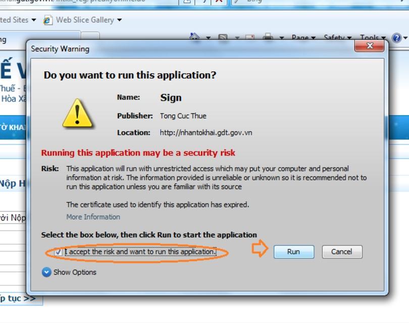 Chạy thử phần mềm để xem lỗi cảnh báo đã biến mất hay chưa.