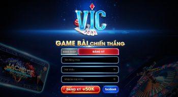 Đăng kí hoặc đăng nhập tham gia cổng game bài đổi thưởng vic