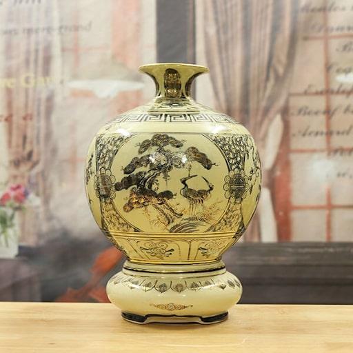 Bình hút tài lộc gốm Chu Đậu mang lại tài lộc thích hợp để làm quà tặng cho sếp nữ