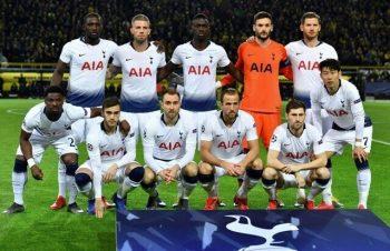 Đội bóng Tottenham đang dẫn đầu trong bảng xếp hạng