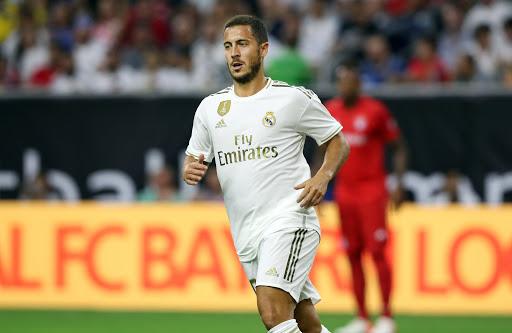Eden Hazard hiện đang chơi cho Real Madrid