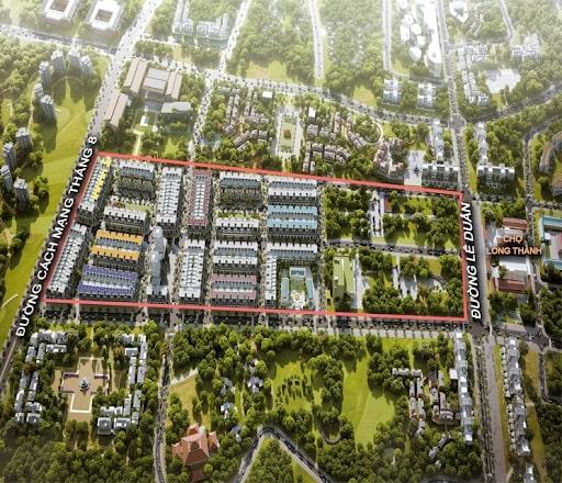 Phối cảnh dự án Long Thành Pearl tại Đồng Nai